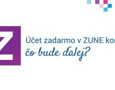 Účet zadarmo v ZUNE končí, čo bude ďalej?